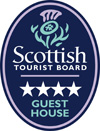 4 Star Scottish Tourist Board Guest House Edinburgh
