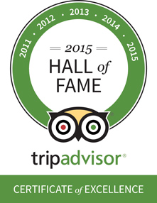TripAdvisor Hall of Fame Edinburgh