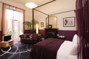 Double Kingsize Four Poster bedroom Edinburgh Guest House Edinburgh Scotland UK